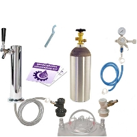 Kegco Economy Homebrew Tower Kegerator Conversion Kit