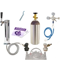 Kegco Standard Homebrew Tower Kegerator Conversion Kit