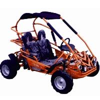 110cc Semi-Automatic 3 Speed w/Reverse Mid-Size Go Kart