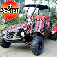 150cc TrailMaster Blazer4 150X Go Kart Fully Automatic w/Reverse Electric Start & Kill Switch