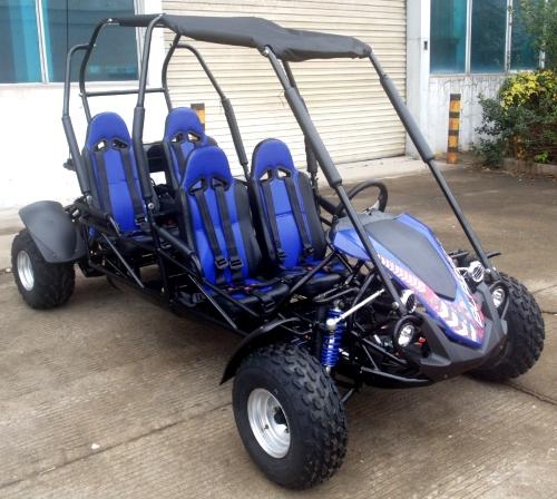 TrailMaster Blazer 4 150 Full Size Seat Family Go Kart