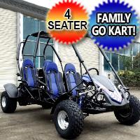 TrailMaster Blazer 4 150 Full Size 4 Seat Family Go Kart