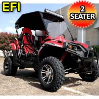 TrailMaster Challenger 200EX UTV 2 Seater Utility Vehicle