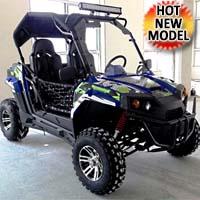 TrailMaster Challenger 200X UTV 2 Seater Utility Vehicle
