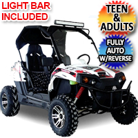 Brand New 300cc Trailmaster Challenger UTV Side by Side Utility Vehicle - 300EX EFI