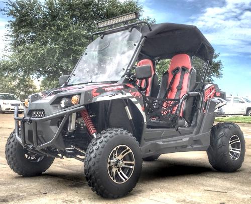 Trailmaster utv challenger 300x irs utility vehicle with led light bar aloadofball Image collections