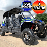 TrailMaster Challenger 4 150X UTV Utility Vehicle Four Seater