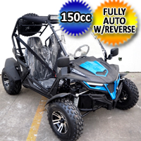 150cc Cheetah X Utility Vehicle UTV Go Kart Fully Automatic With Reverse - Cheetah 150X