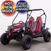 Brand New 208cc Go Kart UTV 4 Stroke Automatic CVT w/Reverse Utility Vehicle - Cheetah 8
