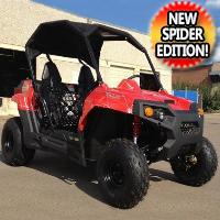 Gas Golf Cart UTV Hybrid 150cc Spider Utility Vehicle Extended Challenger Version