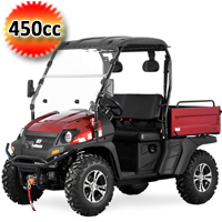 TrailMaster UTV Taurus 450U Side by Side Utility Vehicle