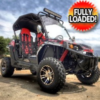 NEW 150X 150cc Golf Cart Challenger UTV - Fully Loaded Edition With LED Light Bar & More