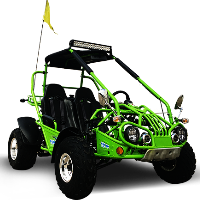 150cc Go Kart XRX Two Seater Go-Kart Automatic w/Reverse