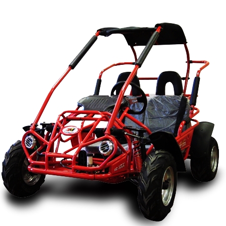 200cc Go Kart MID TrailMaster XRX Two Seater Go- Kart - Size of a 125cc
