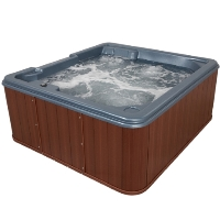 Cozumel Plus 5 Person Lounger Hot Tub Spa w/ 42 Therapeutic Jets