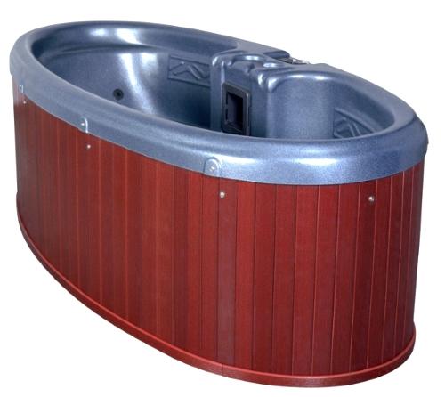 Dream Star 2 Person Plug Play Hot Tub Spa W 8 Therapeutic Graphite Gray Jets