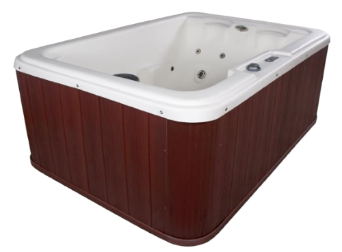 navigator 4 person plug u0026 play hot tub spa w 10 therapeutic stainless steel jets