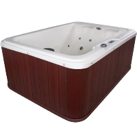 Navigator 4 Person Plugin Hot Tub Spa w/ 10 Therapeutic Stainless Steel Jets
