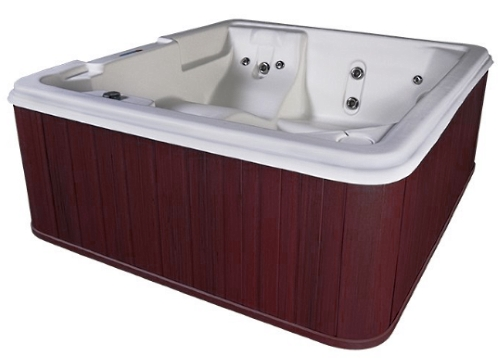 Orion 5 Person Lounger Plug U0027Nu0027 Play Hot Tub Spa W/ 30 Therapeutic  Stainless Steel Jets