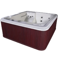 Orion 5 Person Lounger Hot Tub Spa w/ 30 Therapeutic Stainless Steel Jets