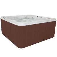 Virgo 8 Person Non-Lounger Hot Tub Spa w/ 57 Therapeutic Jets