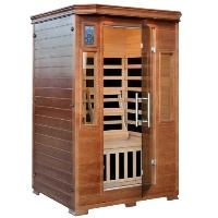 2-3 Person Hemlock InfraWave Majestic Sauna w/ 6 Carbon Infrared Heaters