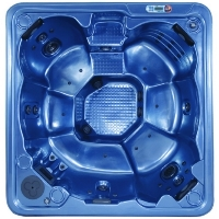 Topaz Plus 2 - 8 Person Non Lounger Hot Tub Spa w/ 56 Therapeutic Jets