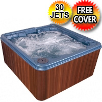 Venus 6 Person Lounger Hot Tub Spa w/ 30 Therapeutic Jets