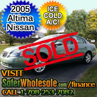 2005 Cheap Used Nissan Altima Sedan Vehicle - Low Price Car
