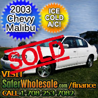 2003 Cheap Used Chevy Malibu Vehicle - Low Price Car