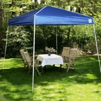 High Quality 10' x 10' Blue Easy Pop Up Tent / Gazebo