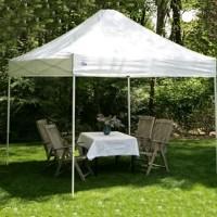 High Quality 10' x 10' White Easy Pop Up Express Tent / Gazebo