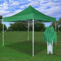 10' x 10' Pop Up Green Party Tent