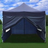 10' x 10' Pop Up Navy Blue Party Tent