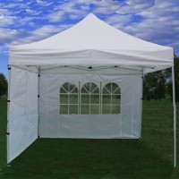 10' x 10' Pop Up White Party Tent