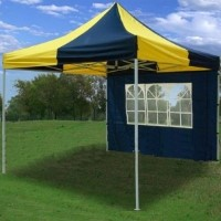 10' x 10' Pop Up Blue & Yellow Party Tent