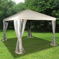 High Quality 10 x 12 Outdoor Gazebo Canopy Shelter