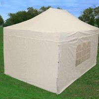 10'x15' White Easy Pop Up  Canopy / Tent