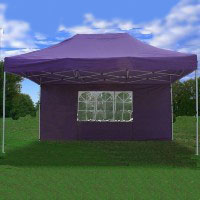 Heavy Duty 10' x 15' Purple Pop Up Party Tent