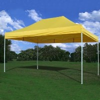 Heavy Duty 10' x 15' Yellow Pop Up Party Tent