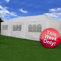 10'x30' Large Decorative Party Canopy / Wedding Tent