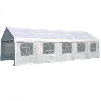 Heavy Duty White 13' x 33' Party Tent Gazebo Canopy