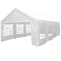 Heavy Duty White 13' x 26' Party Tent