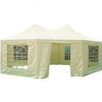 Heavy Duty Beige 16.4' x 22.3' Octangle Party Tent