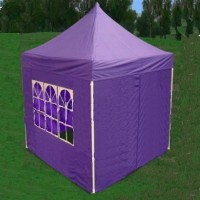 8' x 8' Easy Pop Up  Purple Canopy / Tent