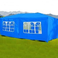 10 x 30 Blue Gazebo Party Tent Canopy
