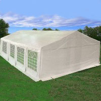 Heavy Duty 26'x20' White Party Wedding Tent Canopy Carport