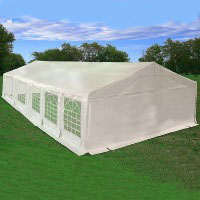 White 32' x 20' Heavy Duty Party Wedding Tent Canopy Carport