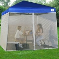 Screenroom for Easy Pop Up 10 x 10 Blue Tent/Gazebo