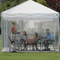 Screenroom for Easy Pop Up 10' x 10' Express Gazebo